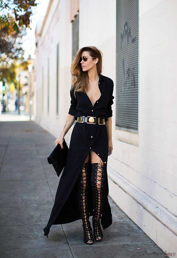 black gladiator sandals outfit