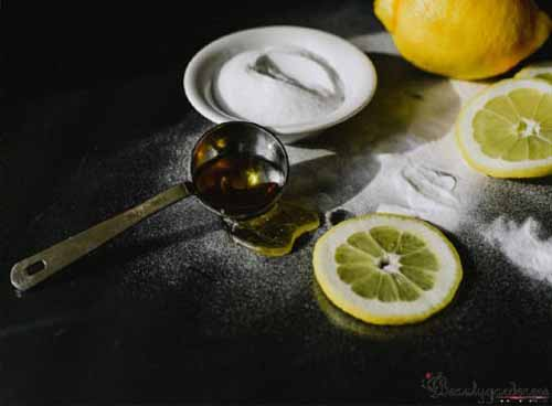 does lemon juice get rid of blackheads