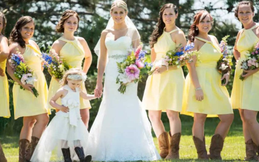 mother of the bride dresses to wear with cowboy boots