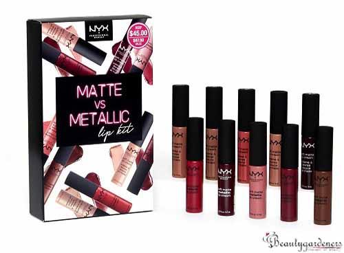 nyx lipstick set